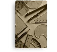 Shapes and Angles Canvas Print