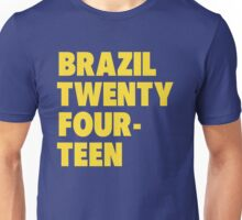 Team Brazil for the World Cup 2014 Unisex T-Shirt