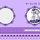 Plum Retro Recipe Book by Tracey Quick