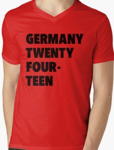 Team Germany for the World Cup 2014 Mens V-Neck T-Shirt