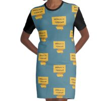 BELIEVE IN YOURSELF Graphic T-Shirt Dress