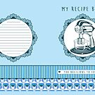 Blueberry Retro Recipe Book by Tracey Quick
