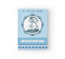 Blueberry Retro Recipe Book Hardcover Journal