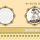 Lemon Retro Recipe Book  by Tracey Quick