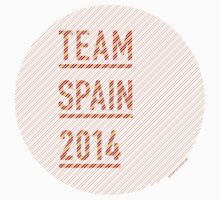 Team Spain for the World Cup 2014 by everysaturday