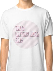 Team Netherlands for the World Cup 2014 Classic T-Shirt