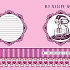 Rose Retro Recipe Book by Tracey Quick