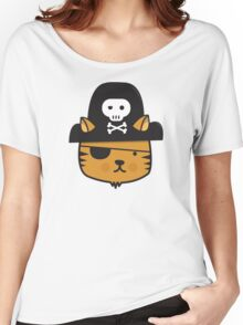 Pirate Cat - Jumpy Icon Series Women's Relaxed Fit T-Shirt