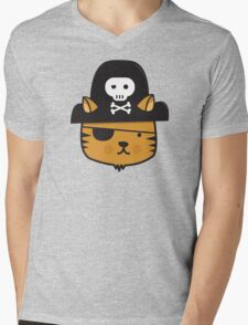 Pirate Cat - Jumpy Icon Series Mens V-Neck T-Shirt