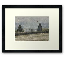 North Shore Snowstorm Framed Print