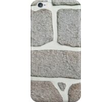 rock wall iPhone Case/Skin