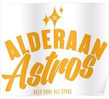 Alderaan Astros Poster