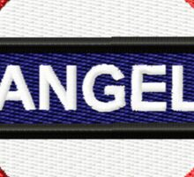 Angel Tube Sign Sticker
