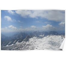 The Alps (Zugspitze)  Poster