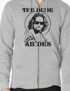 The Dude Abides - The Big Lebowski Zipped Hoodie