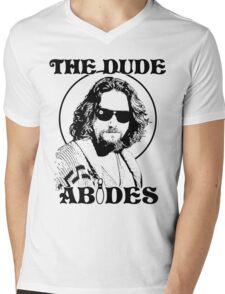 The Dude Abides - The Big Lebowski Mens V-Neck T-Shirt