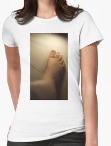 Speedy Gonzalez Foot Womens Fitted T-Shirt