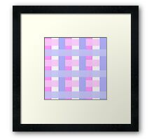 Buffalo Check Patterns Framed Print