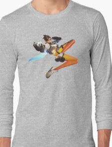 Overwatch - Tracer Stance Long Sleeve T-Shirt