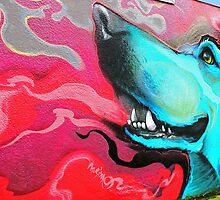 Blue Dog © by Ethna Gillespie