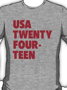 Team America for the World Cup 2014 T-Shirt