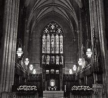 In Peaceful Solitude: Duke Chapel by Kadwell