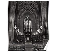 In Peaceful Solitude: Duke Chapel Poster