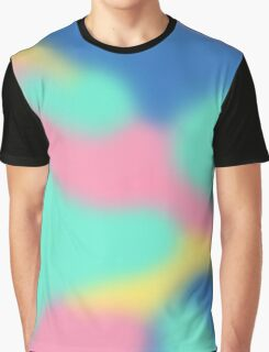 Abstract Pastel Graphic T-Shirt