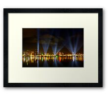 DARK MOFO - More Articulated Intersect Framed Print