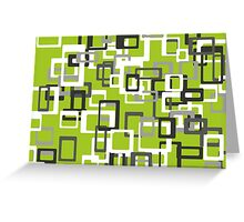 Seamless retro geometric pattern. Greeting Card