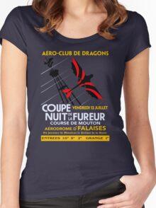 Nuit De La Fureur Women's Fitted Scoop T-Shirt