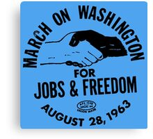 March on Washington for Jobs and Freedom Canvas Print