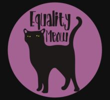 Equality MEOW One Piece - Short Sleeve