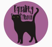 Equality MEOW Baby Tee