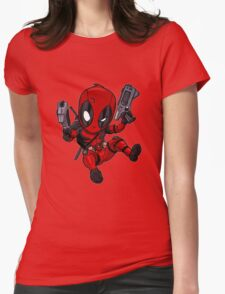 DeadPool cibby Womens Fitted T-Shirt