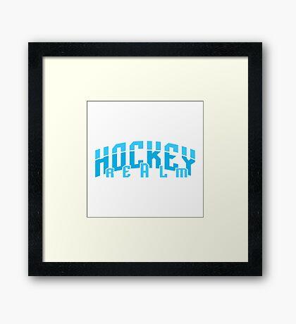 Hockey Realm Framed Print