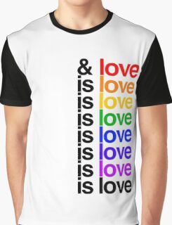 Is Love - Lin Manuel Miranda Graphic T-Shirt