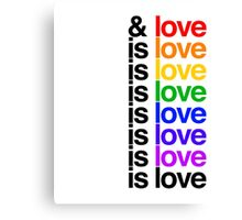 Is Love - Lin Manuel Miranda Canvas Print