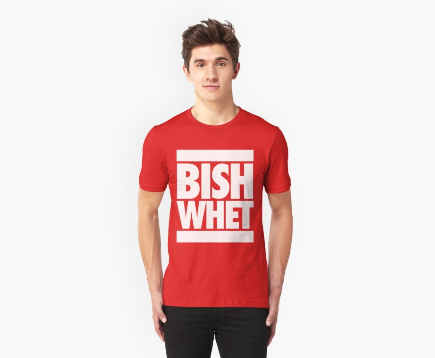 """Bish Whet"" T-Shirts & Hoodies by roderick882 