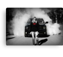 Smokin Canvas Print