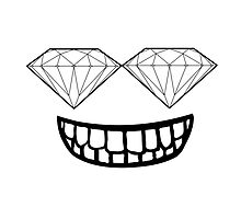 Diamond Smiley Face by Jacob Amoss