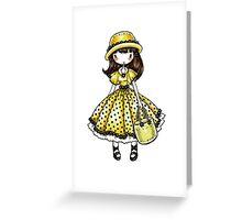 GiraSoL Dollie Greeting Card