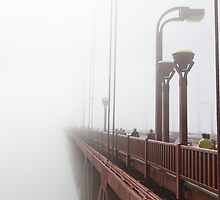 Golden Gate Fog II by LauraZim