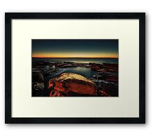 Collaroy Beach Framed Print