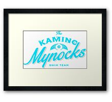 Kamino Mynocks Framed Print