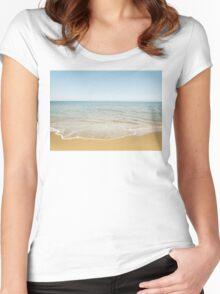 Beach Days Women's Fitted Scoop T-Shirt
