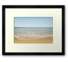 Beach Days Framed Print