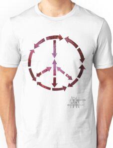 (Arrows) Peace Out  Unisex T-Shirt
