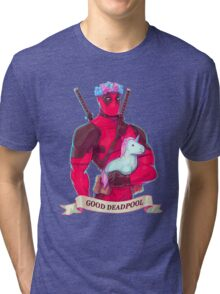 DeadPool cibby Tri-blend T-Shirt