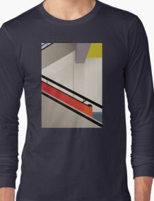 Funky Little Staircase Long Sleeve T-Shirt